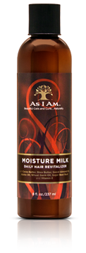 As I Am Moisture Milk Daily Hair Revitalizer 8 fl oz.
