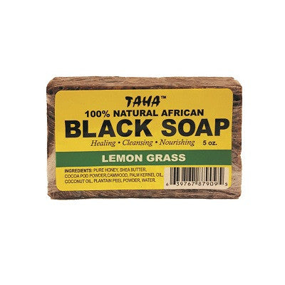 100% Natural African Black Soap