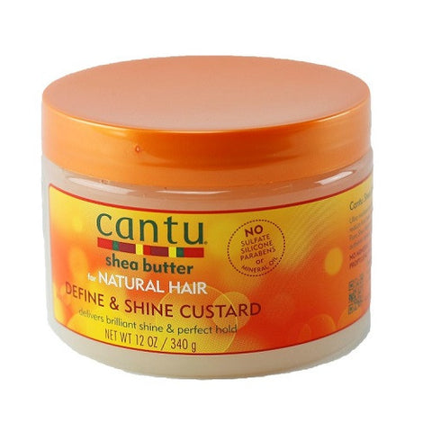 Cantu Shea Butter Define & Shine Custard 12 oz