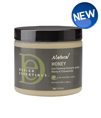 DE Natural Honey CurlForming Custard with Honey and Chamomile