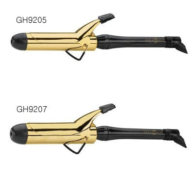 "Gold 'N Hot Professional 24K Gold Spring Curling Iron 1"" - 1 & 1/2"""