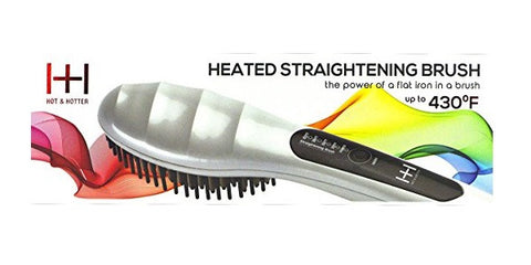 Hot & Hotter Heated Straightening Brush