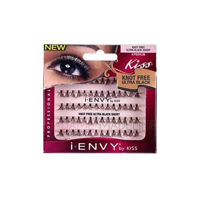 Kiss i-Envy Ultra Black Flare Short Lashes