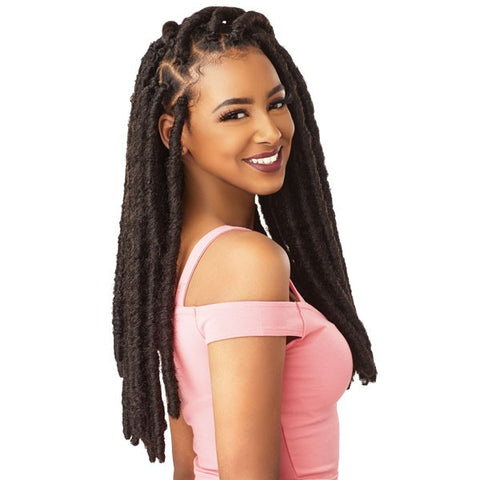 LULUTRESS CROCHET BRAID LUNA LOCS 18