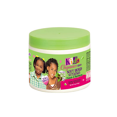 Kids Organics by Africa's Best Soft Hold Styling Pomade & Hairdress 4 oz