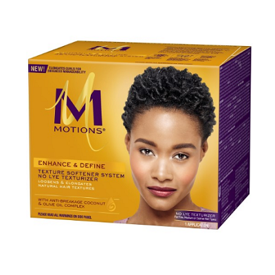 Motions Enhance & Define Texture Softener System No Lye Texturizer Kit