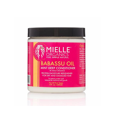 Mielle Organics Babassu Oil & Mint Deep Conditioner 8 fl oz