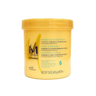 Motions Smooth & Straighten Classic Formula Hair Relaxers 15 oz