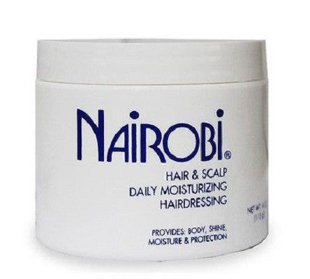Nairobi Hair and Scalp Daily Moisturizing Hairdressing 4 oz