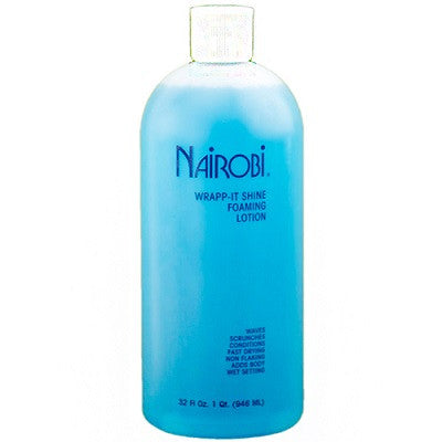 Nairobi Wrapp-It Shine Foaming Lotion 32 oz