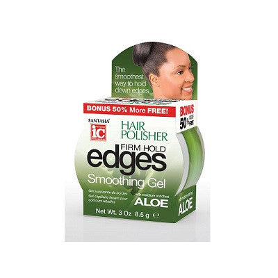 IC Hair Polisher EDGES FIRM HOLD Smoothing Gel 3 oz