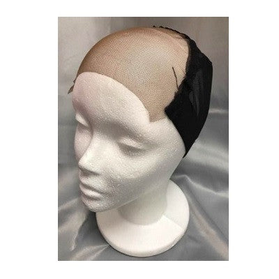 "Q Fitt Make Your Own Wig Stretch Mesh 4"" x 4"" Lace Top Wig Cap"