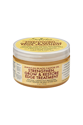 Shea Moisture Jamaican Black Castor Oil Strengthen, Grow & Restore Edge Treatment 4 oz