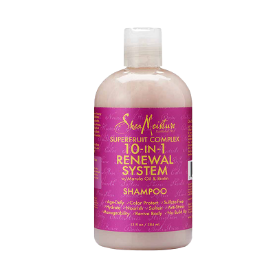 Shea Moisture Superfruit Complex 10-in-1 Renewal System Shampoo 13 fl oz