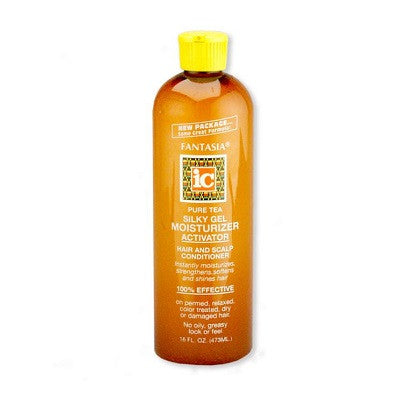 IC Pure Tea Silky Gel Moisturizer Activator 16 oz
