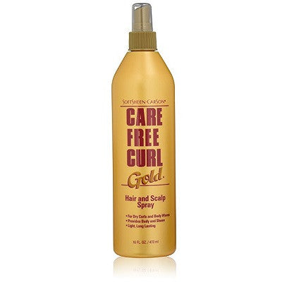 Care Free Cure Gold Hair and Scalp Spray - 16 oz