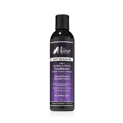 The Mane Choice Soft As Can Be Revitalize & Refresh 3-in-1 Co-Wash, Leave In, Detangler 8 fl oz