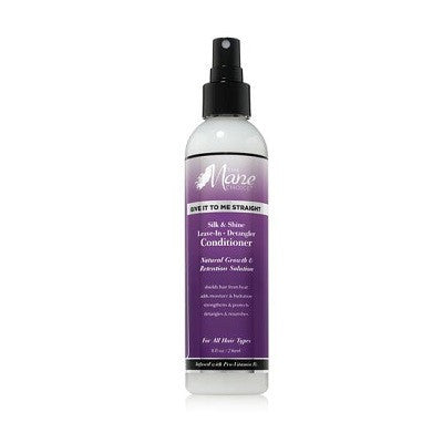 The Mane Choice Give It To Me Straight Silk & Shine Leave-In Detangler 8 fl oz