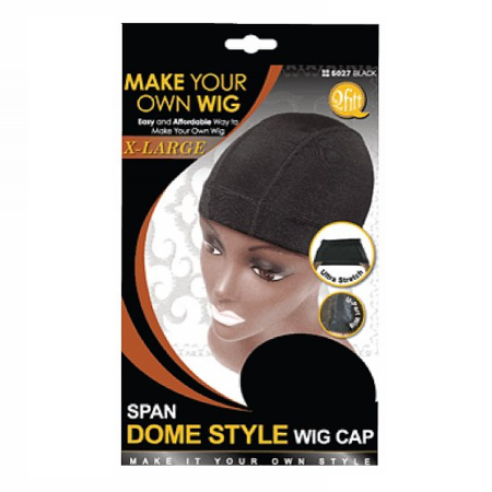 Q Fitt Make Your Own Wig Span Dome Style Wig Cap