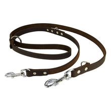 Load image into Gallery viewer, Earthbound Lead Brown Leather Training Lead
