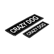 Load image into Gallery viewer, EzyDog Harness Accessories CRAZY DOG / SMALL/MEDIUM Convert Harness Side Badges