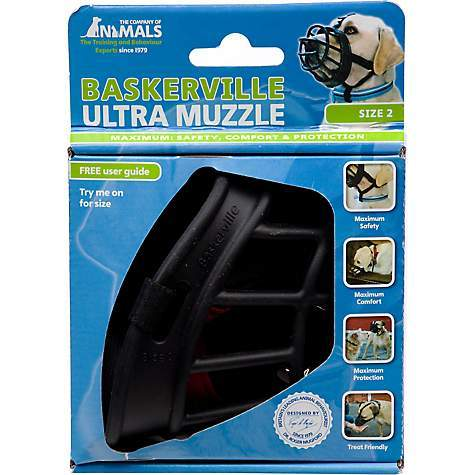 Pedigree Wholesale Muzzle 1 Baskerville Muzzles