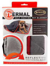 Load image into Gallery viewer, Scruffs Bedding Black Thermal Self-Heating Blanket
