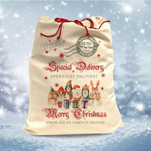 Load image into Gallery viewer, Slickers ◊ Doghouse Accessories Santa Sack