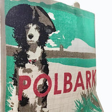 Load image into Gallery viewer, Slickers ◊ Doghouse Gift Polbark Jute Bag