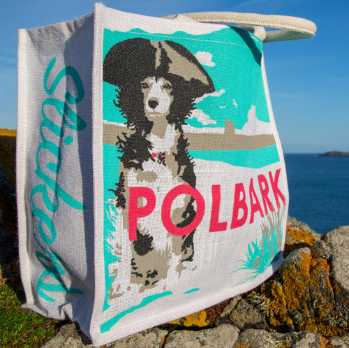 Slickers ◊ Doghouse Gift Polbark Jute Bag