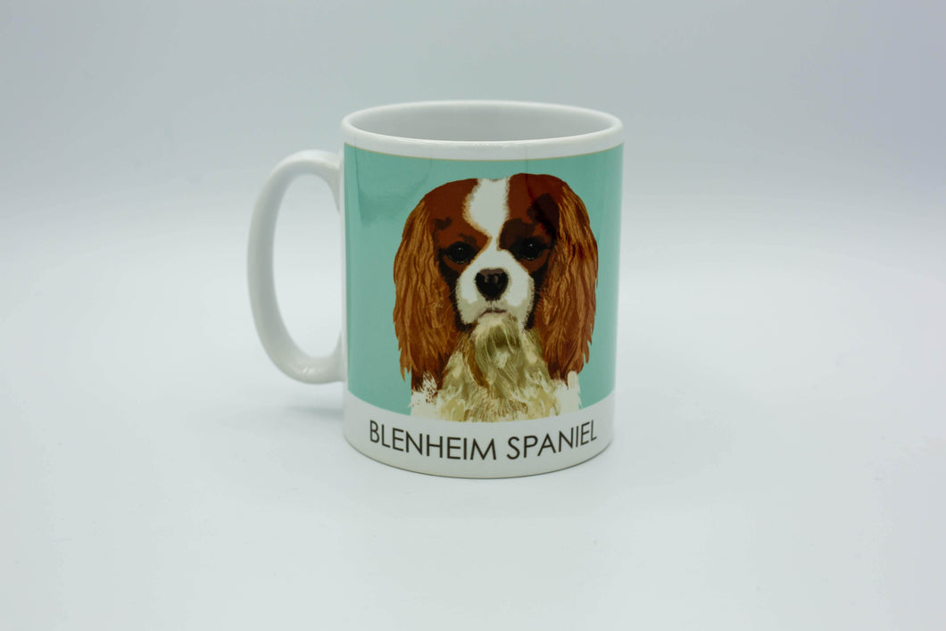 Slickers ◊ Doghouse Mug Blenheim Spaniel Mug