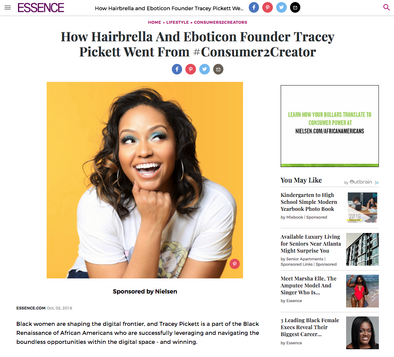 Essence Tracey Pickett Hairbrella