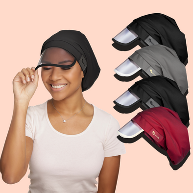 Satin-Lined Rain Hat Bundle (4)