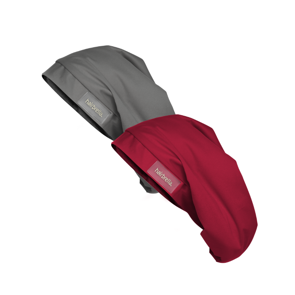 Hairbrella Lite XL Satin-Lined Rain Hat - Bundle (2)