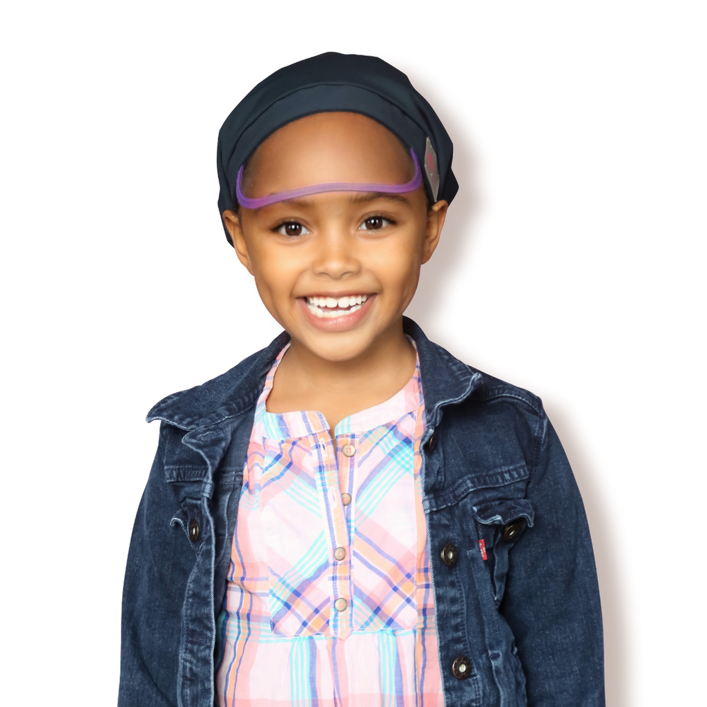 Hairbrella Classic Kids Satin-Lined Rain Hat - Bundle (2)