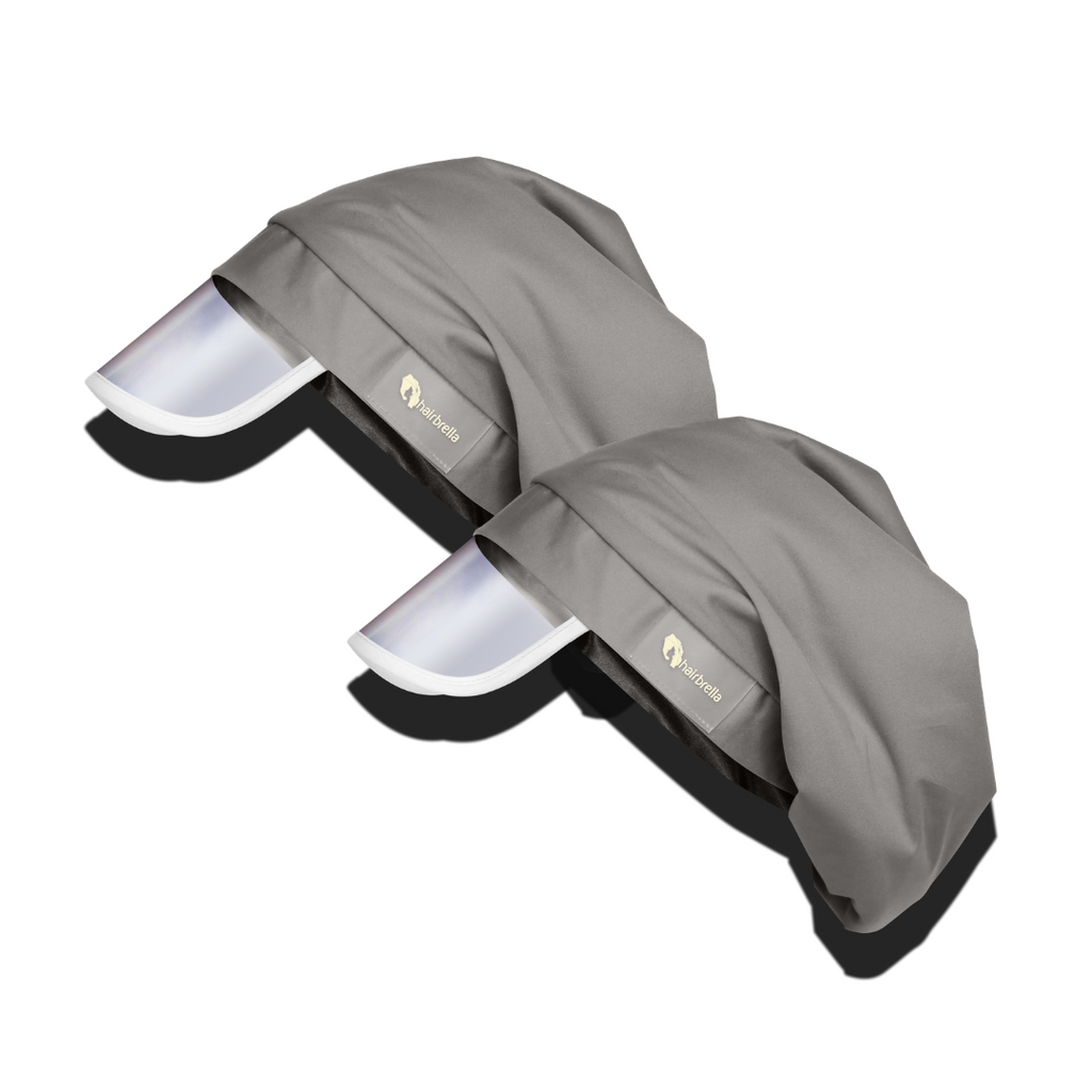 Hairbrella Classic Satin-Lined Rain Hat - Bundle (2)