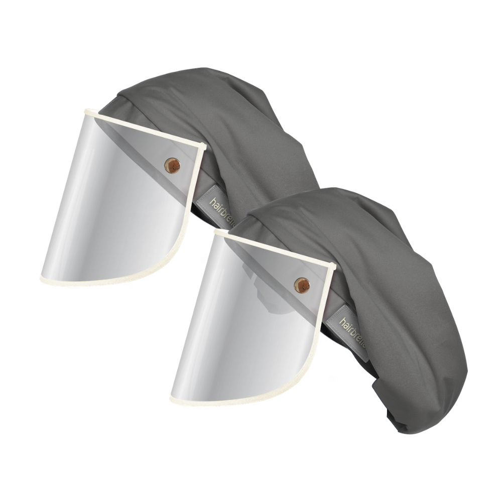 XL Rain Hat + Face Shield - Bundle (2)