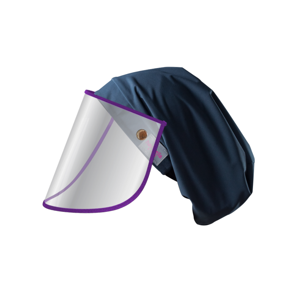 Hairbrella Pro Kids Rain Hat + Face Shield