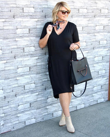 The perfect little (but not so little) Black dress!