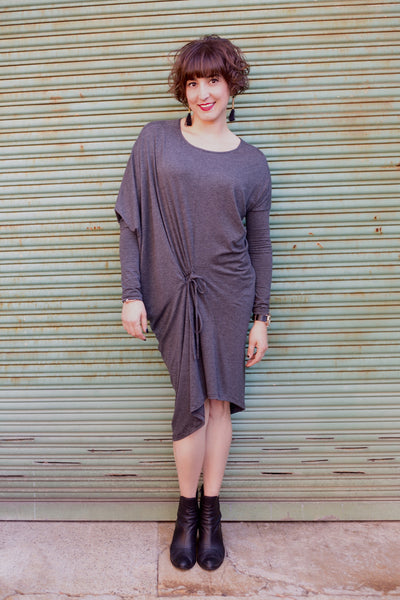 Lulu Manna dress in Marl Charcoal