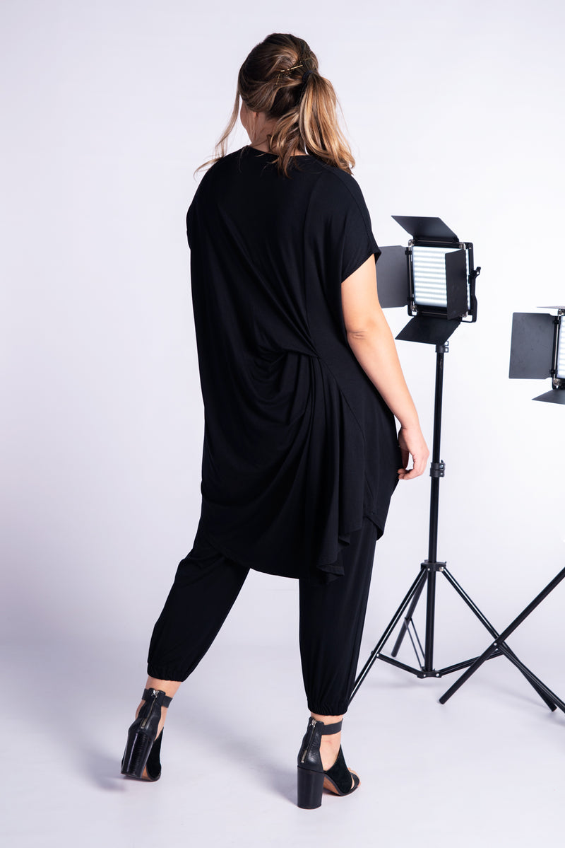 Nara Tunic/Dress- Black