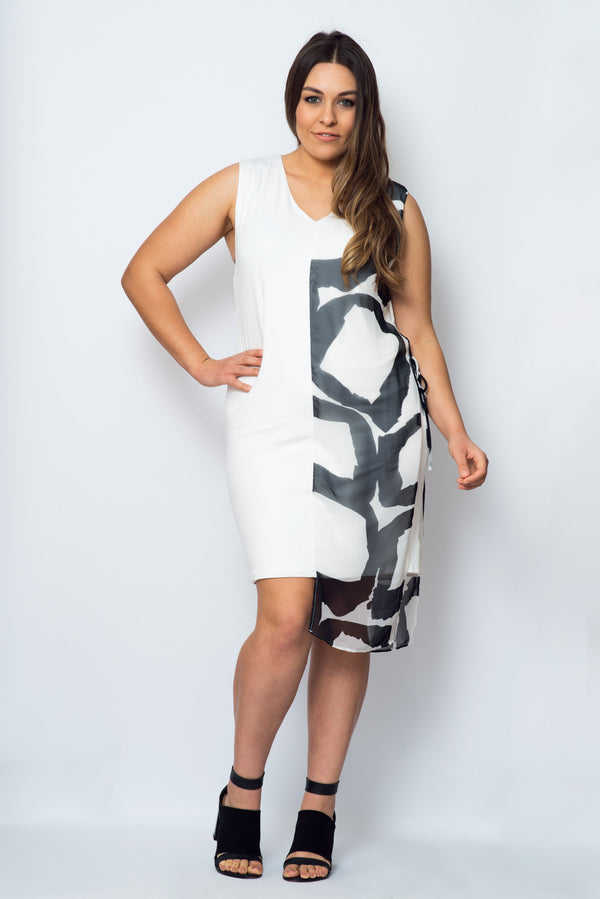 Athena Dress- Ivory