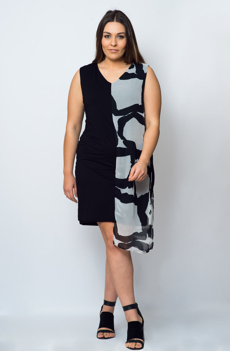 Athena Dress- Black