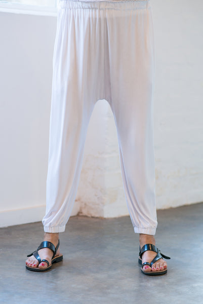 CABANA PANT- White ONLY 2 LEFT