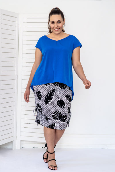 MARTINI TOP- Cobalt blue