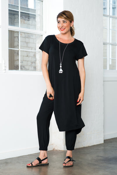 ESCAPE TUNIC-Black ONLY 2 LEFT