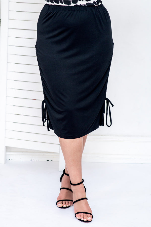 BELLINI SKIRT- Black