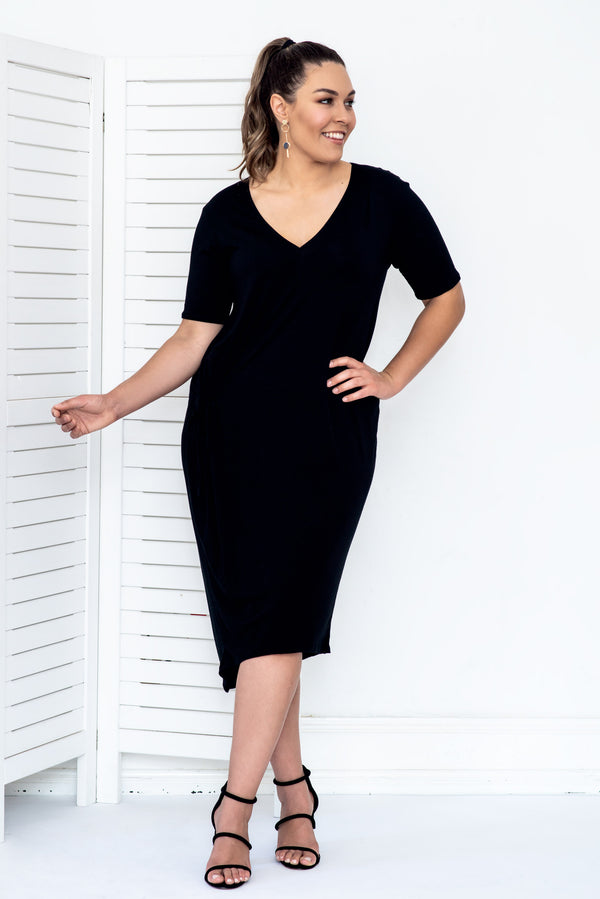 AIESHA DRESS- Black