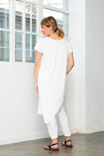 ESCAPE TUNIC- White ONLY 1 LEFT
