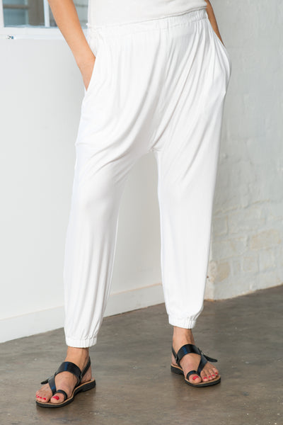 CABANA PANT- White ONLY 1 LEFT